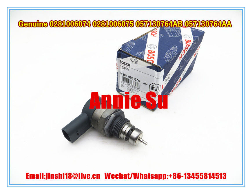 Bosch Genuine and New Pressure Regulator 0281006074 0281006075 for AUDI SEAT VW 057130764AA 057130764AB